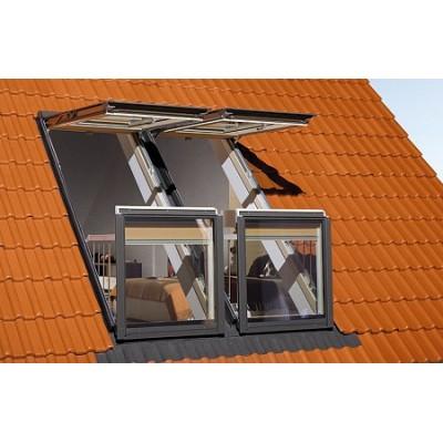 Мансардное окно-балкон Fakro - Galeria