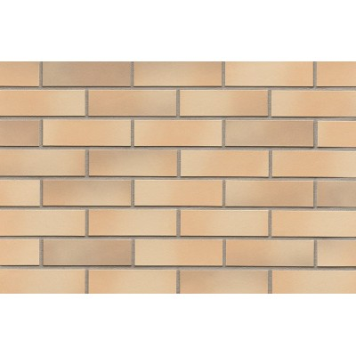 Фасадная плитка ABC - Elmshorn ockergrau glatt