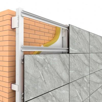 Фасадные HPL панели Gentas под камень