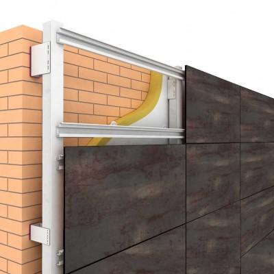 Фасадные HPL панели Gentas под  металл
