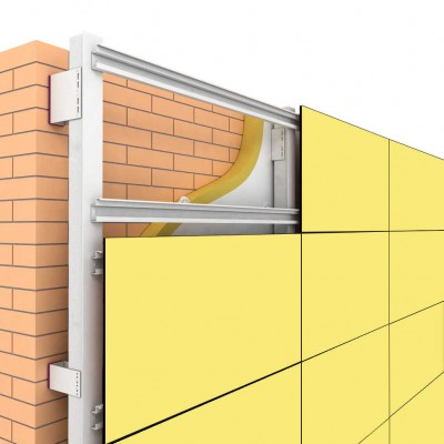 Однотонные фасадные HPL панели Gentas