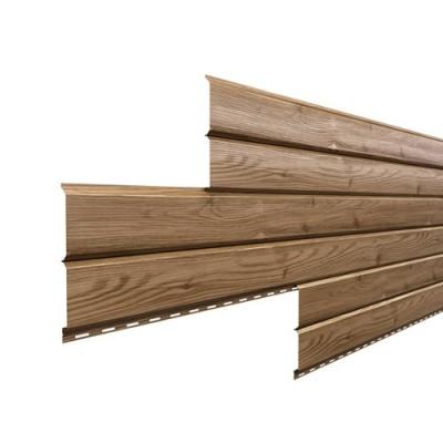 Сайдинг «Металл Профиль» - L-брус (Под дерево)