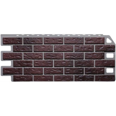 Фасадные панели Fineber - Кирпич Жженый