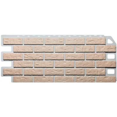 Фасадные панели Fineber - Кирпич Бежевый