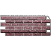 Фасадные панели Fineber - Кирпич Красный